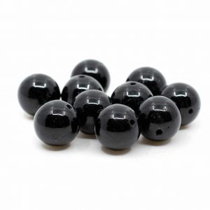 Edelstein Lose Perlen Obsidian - 10 Stück (10 mm)