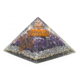 Orgonit-Pyramide - Amethyst Vastu (70 mm)