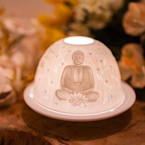 Stimmungslicht Porzellan Buddha