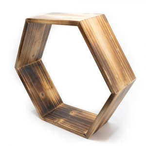 Zen-Altar Wabe Holz