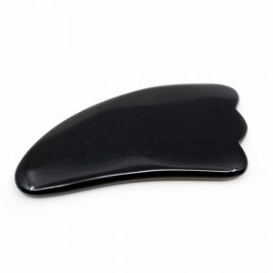 Gua Sha Schaber Obsidian Wolke