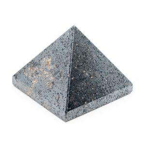 Pyramide Edelstein Hämatit (25 mm)