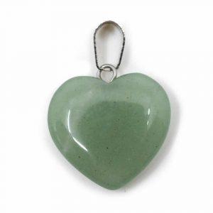 Herzform Edelsteine Anhänger Grüner Aventurin (20 mm)