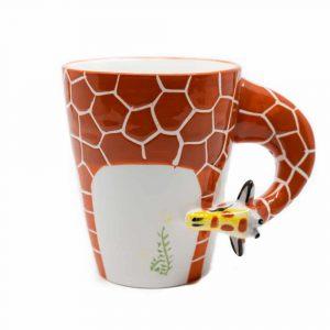 Tasse Handbemalte Giraffe