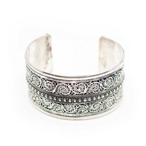 """Tibetisches Armband Handgemacht """"Florality"""""""