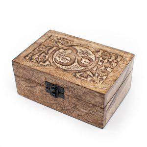 Aufbewahrungsbox Nachhaltiges Holz OM Handgefertigt (15 cm)