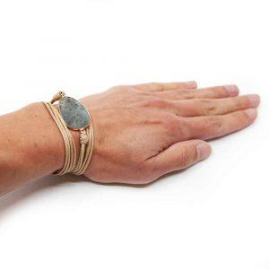 Edelstein Armband Achat Wickelarmband