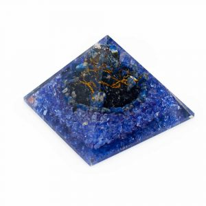 Orgonpyramide - Lapis Lazuli Edelsteinbaum groß