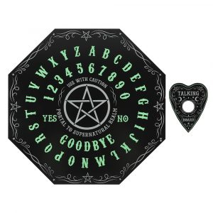 Im Dunkeln leuchtende Octagon Spirit Board