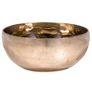Klangschale Shanti goldfarbig (300-400 Gramm / 11-12 cm)