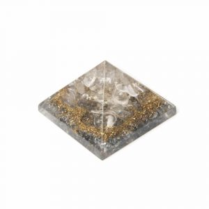 Orgonit Baby Pyramide aus Bergkristall