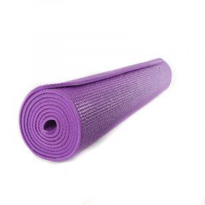 Yogi & Yogini PVC Yogamatte violett (185 x 63 x 0.5 cm)