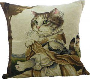 Gobelin Kissen Aristo Katze Lady (45 x 45 cm)