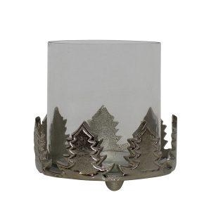 Aluminium Kerzenhalter Tannenbaum