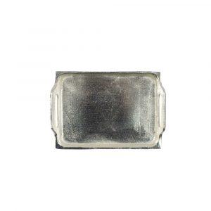 Aluminium Allzweckschale Silber-Look (20 x 14 cm)