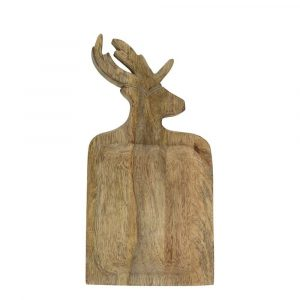 Schale aus Mangoholz Hirsch (35 cm)
