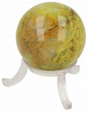 Edelstein Kugel Opal Grün (40 mm)