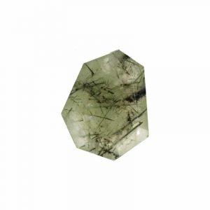 Lose Edelstein-Perle Prehnit / Turmalinscheibe (20-23 mm)