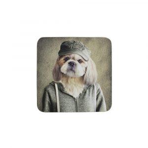 Untersetzer Herr Hund (Satz von 6 Stück)
