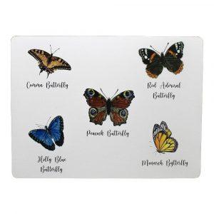 Tischsets Schmetterlinge (4er-Satz)