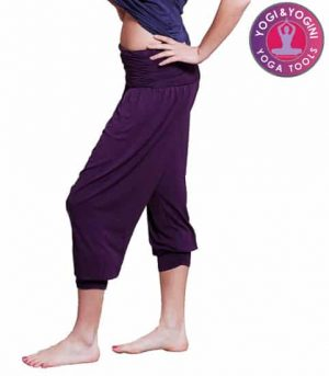 Yogahose 'Comfort Flow' violett S-M