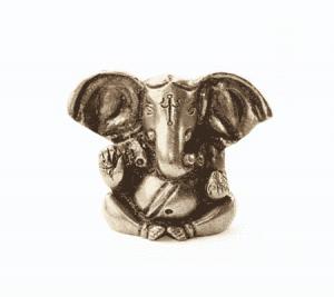 Appu Ganesh Messing Miniatur (4,5 cm)