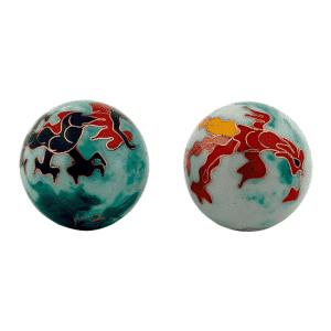 Qigongkugeln Drache & Phoenix - 3 cm