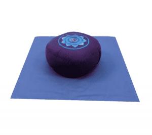 Meditations SET OM rot - violett - blau auf blau