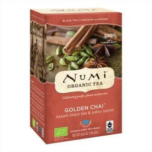 Numi Biologischer Tee Golden Chai