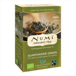 Numi Biologischer Grüner Tee Gunpowder