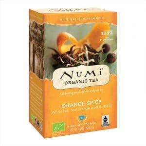 Numi Biologischer Weißer Tee Orange Spice