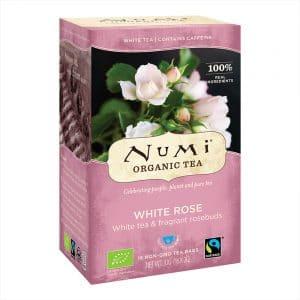 Numi Biologischer Weißer Tee Rose