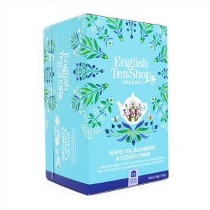 English Tea Shop Weißer Tee Waldbeere & Holunderblüte BIO