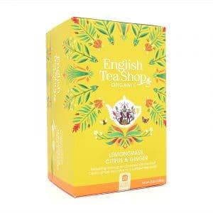 English Tea Shop Zitronengras, Zitrus & Ingwer BIO