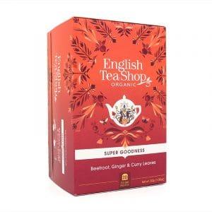English Tea Shop Rote Beete, Ingwer & Curryblatt BIO