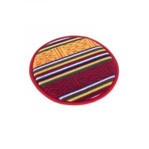 Klangschalenkissen flach - Tribal Design