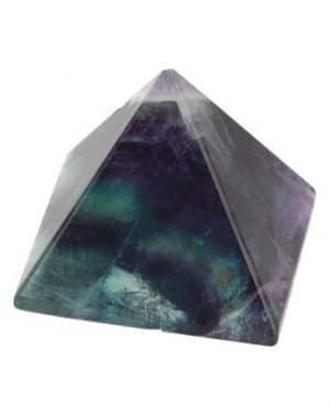 Fluorit-Pyramide (30 mm)