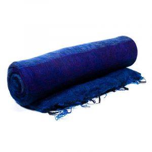 Meditationdecke XL blau/violett