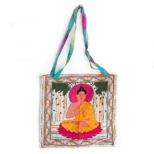 Tragetasche Baumwolle - Meditierender Buddha (45 cm)