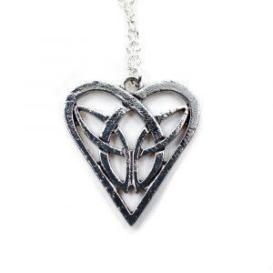 Wikinger-Anhänger Herz mit Endlosem Knoten