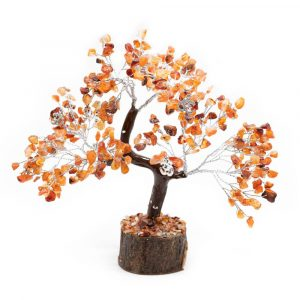 Edelsteine-Baum Karneol - Spiritualität - Groß