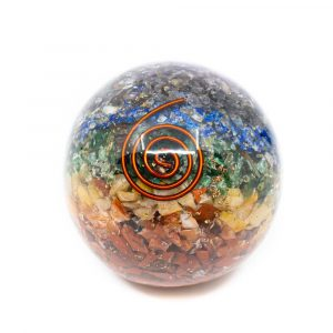 Orgonitkugel Chakra (60 mm)