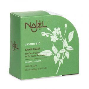 Najel Aleppo-Seife mit biologischem Jasmin