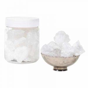 Bergkristallchips M in Dose (±600 Gramm)