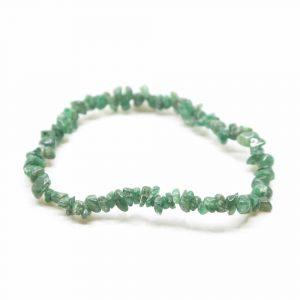 Edelstein-Splitter-Armband Grüne Jade