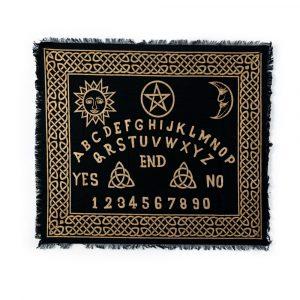 Pendel Matte schwarz mit goldenen Lettern (60 x 70 cm)