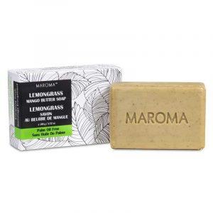 Maroma Vegan Mangobutterseife Zitronengras Fair Trade