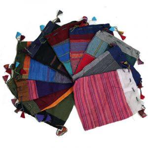 Baumwolltäschchen Vintage verschiedene Farben (Assorti)