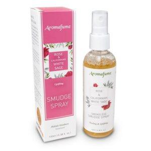Aromafume Natürliches Smudge-Spray Weißer Salbei und Rose