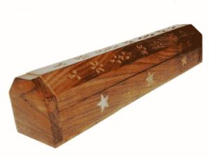 Räucherstäbchenhalter/Dose Sterne